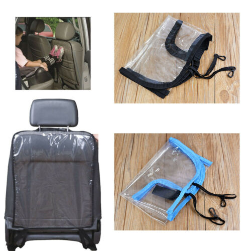 Universal Car Seat Back Protector Cover for Children Auto Kick Mat Mud Clean