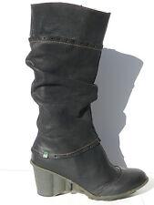 El Naturalista N892 Chaussures Femme 41 Bottes Anji 892 UK7 UK8 Boots Noir Neuf