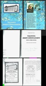 JUDAICA-ESTONIA-Jewish-School-1923-40-history-book-1998