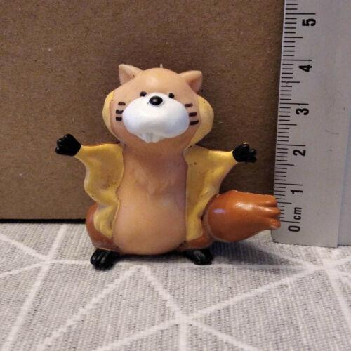 Pvc figurine vintage cartoon tatsunoko lutinette and lutinou-squirrel