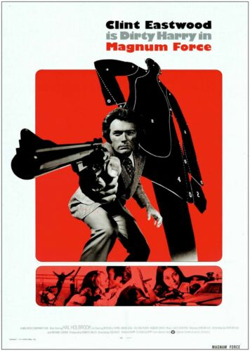 Clint Eastwood Magnum Vintage Movie Poster Art Print A0 A1 A2 A3 A4 Maxi