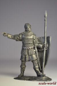 Tin-soldier-figure-Byzantine-infantryman-13-14-century-54-mm