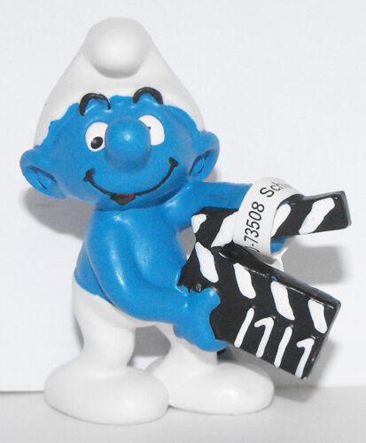 Movie Maker Smurf 2 inch Figurine 20710 Movie Clapperboard Plastic Figure