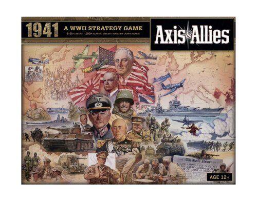 Wizards Of The Coast HAS396870000 axe axe axe et alliés 1941 Board Game 799c63