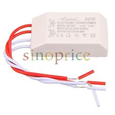 110V/220V-12V 60W Halogen LED Light Electronic Transformer Power Supply Drive