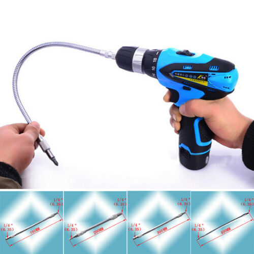 Electric Grinder Flexible Drive Shaft Bending Socket Extension Rotary Drill Tool