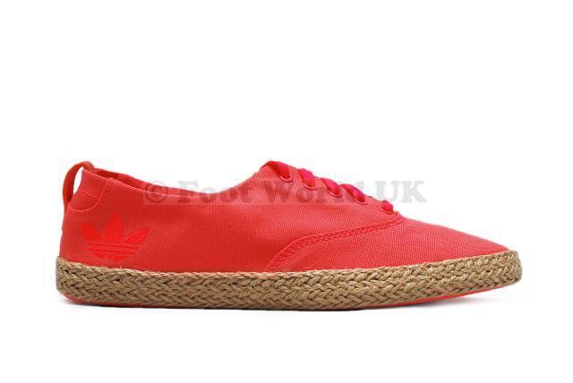 Femmes Adidas - Azurine Bas Espadrille W Été - Q20322 - Rouge Zest Baskets