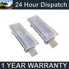 2X FOR BMW Mini R50 R52 R55 R56 R57 18 WHITE LED FOOTWELL BOOT COURTESY LAMPS