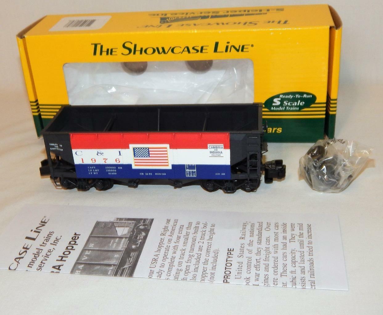S Help 01869 C &I 55 ton USRA Offset Hopper 2 1976 Cambria Indiana tvåhundraåriga