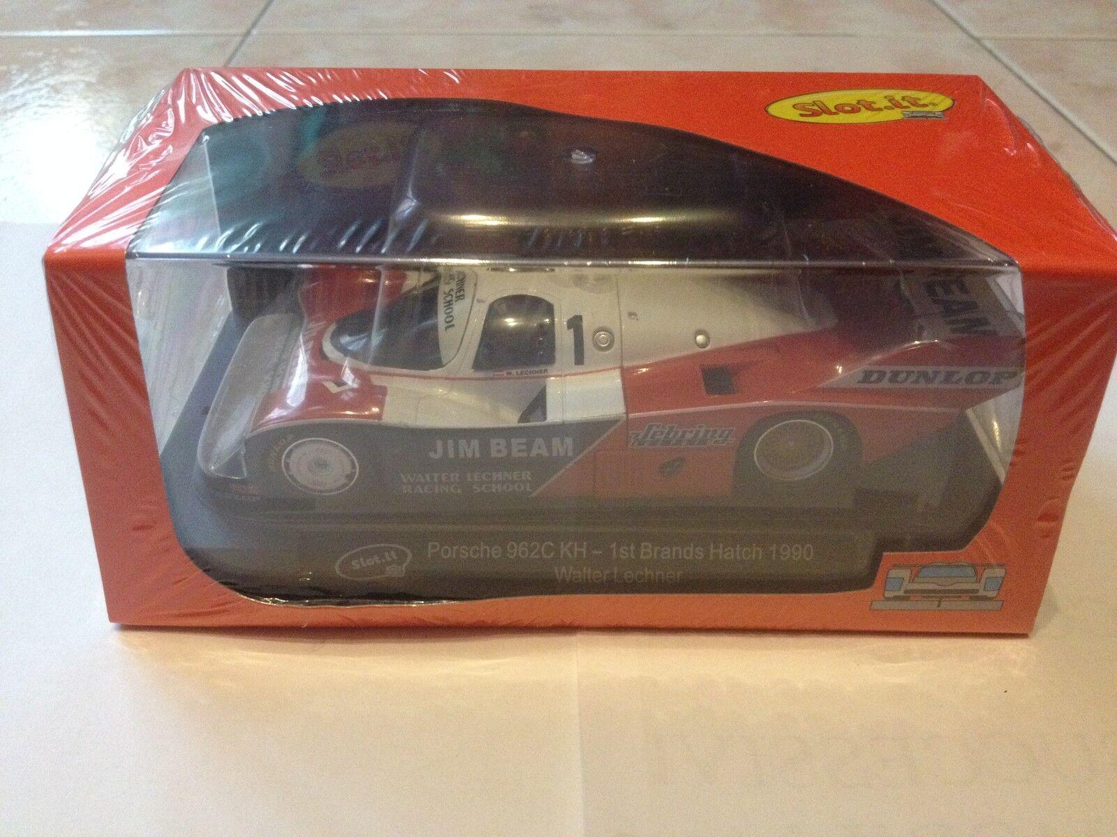 SLOT.IT Porsche 962C KH n.1 1st 1 32 Brands Hatch 1990 NOVELTY