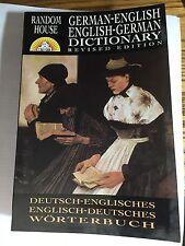 RANDOM HOUSE GERMAN-ENGLISH; ENGLISH- GERMAN DICTIONARY REVISED EDITION 1998