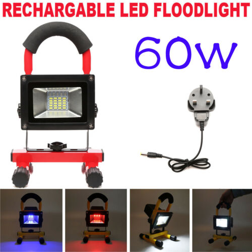 Cree Led Work Light Rechargeable Camping Hiking Lantern Hand Lamp Flood Light
