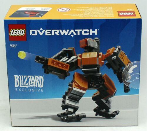 75987 Omnic Bastion Lego Overwatch 182-piece Set Sealed in Box Blizzard