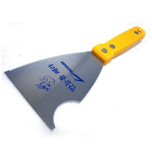 DAEGUN Mastic Grattoir avec dentelé Lame Paint Remover Tools Mastic Couteau De Remplissage