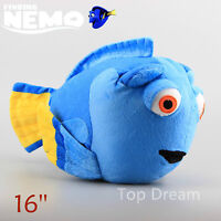 NEW Finding Nemo Dory Fish Blue Plush Toy Soft Stuffed Doll 40cm 16'' Kids Gift
