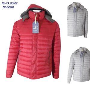 piumino 100 grammi da uomo Giubbotto giacca leggera invernale grigio ... 5ff353039dc