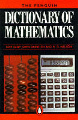 """""""VERY GOOD"""" The Penguin Dictionary of Mathematics (Penguin reference), , Book"""