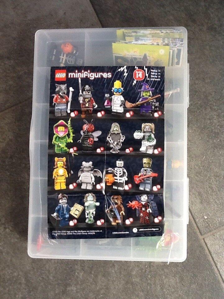 Lego minifigures series 14 full setin case
