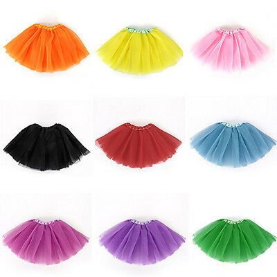 Toddlers Baby Girls Gauze Tutu Cute Dress Pleated Party Dancewear for 3-8Y New