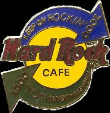 Hard Rock Cafe ONLINE 2000 MILLENNIUM PIN Keep Rockin' ON-LINE EXCLUSIVE!