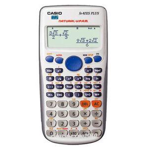 New Casio FX-82ES Plus BK Scientific Calculator With Free Worldwide Shipping