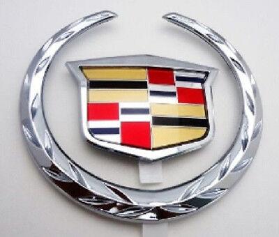 "Cadillac 2002 2003 2004 2005 DEVILLE DTS DHS Rear Trunk /""WREATH /& CREST/""!!"