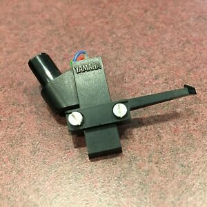 Yamaha-Turntable-Parts-Straight-Tone-Arm-Head-Shell-w-Hardware-and-Wires