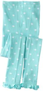 COUNTRY KIDS Cotton Ruffle Polka Dot Footless Tights Capri 1 to 8 years