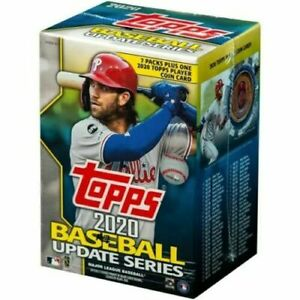 2020-Topps-MLB-Baseball-Update-Series-Retail-Blaster-Box-Fac-Sealed-In-Stock