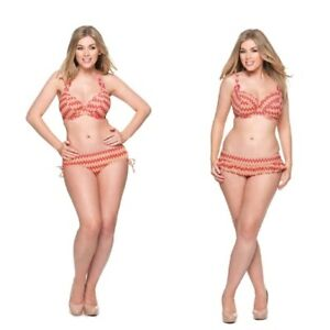 f60388aa90e Image is loading Curvy-Kate-Shockwave-Halterneck-Bikini-Top-Padded-Top-