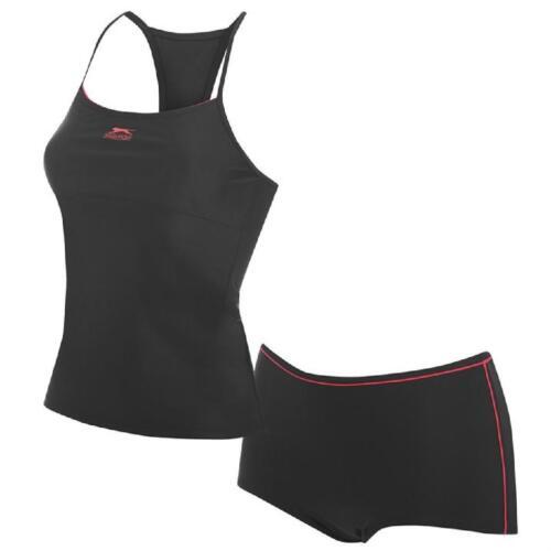Slazenger Combinaison Maillot De Bain Nager Pour Suit 32-44 XXS XS Tankini