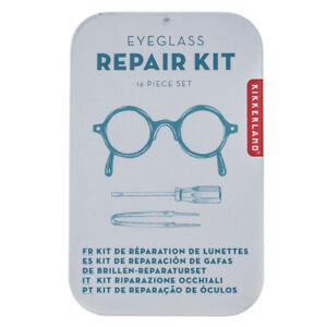 Kikkerland Eyeglass Repair Kit - 16pc Set