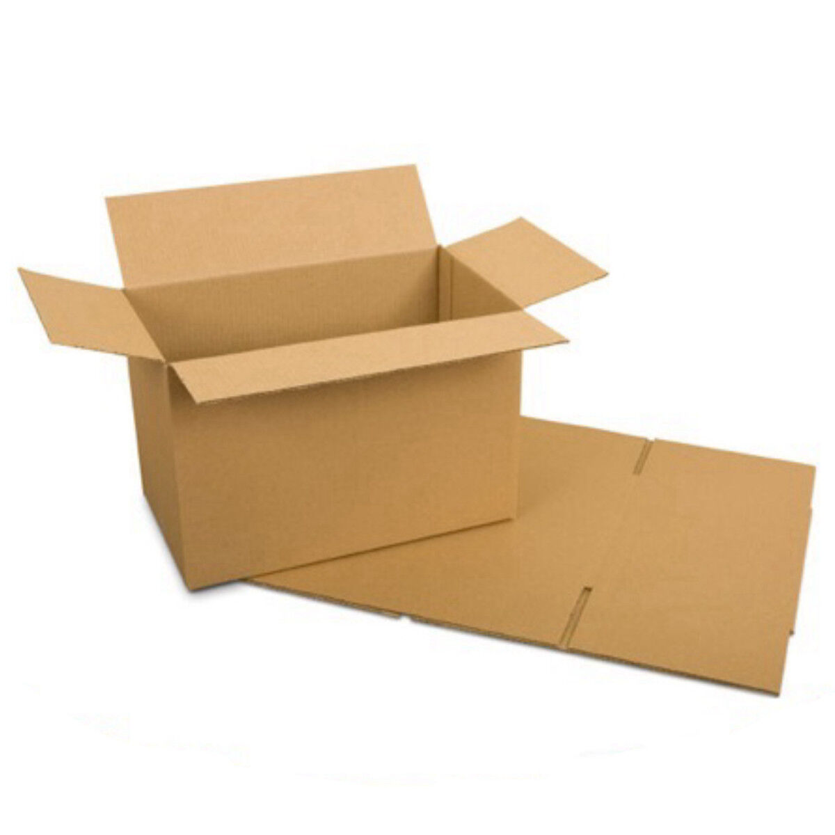 Cardboard Postage Boxes Single Wall Postal Mailing Small Parcel Box 8  x 6  x 4