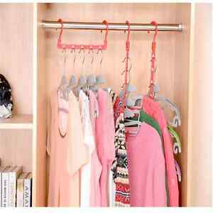 Multi-Function-Space-Saver-Wonder-Magic-Clothes-Hanger-Closet-Organizer-Hook-G