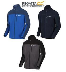 Regatta Mens Fellard Fleece Jacket Full Zip Up Coat S M L XL 2XL 3XL 4XL