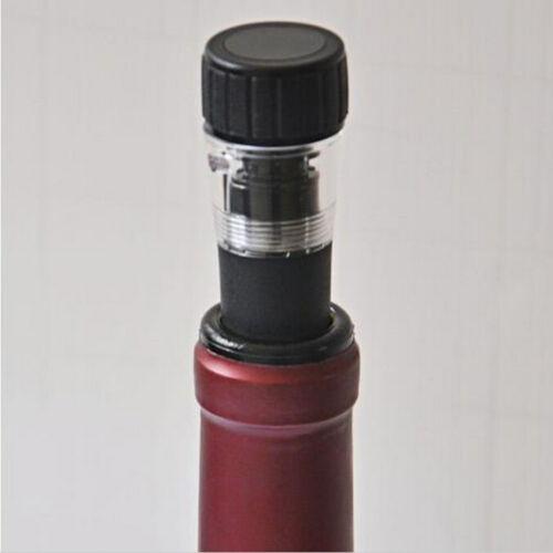 Champagne Vacuum Wine Bottle Freshen Stopper Preserver Air Pump Sealer Plug*GN$T