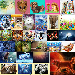 5D-Art-Full-Drill-Diamond-Painting-Cross-Stitch-Kits-Embroidery-Dogs-Home-Decors