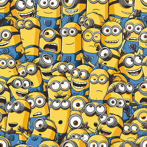 Image Is Loading Despicable Me Sea Of Minions 10m Wallpaper Kids