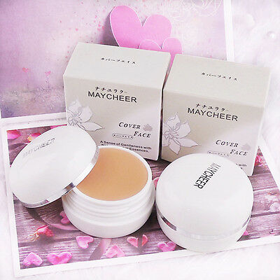 Fashion Concealer Foundation Cream Cover Black Eyes Acne Scars Makeup Tools