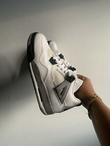 Nike-Air-Jordan-4-Retro-BG-039-Cement-039-2016-GS-5-5-836016-192