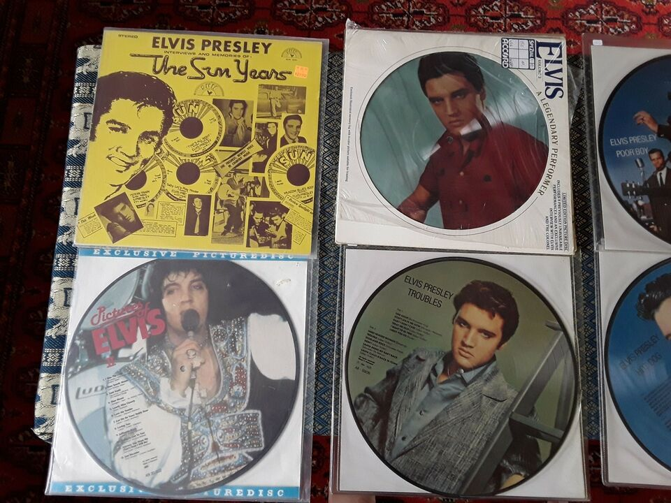 LP, Elvis Presley, Pop