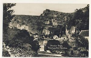Vintage-Postcard-Cheddar-Cliffs-View-from-Hotel-Gardens-Unposted-2102