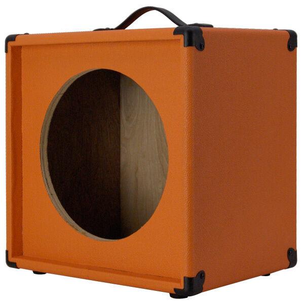 1X12 Guitar Speaker Empty Extension cabinet Orange Tolex G1X12ST-BOTLX 440LIVE