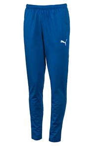 Puma Men ftblTRG Training Pants Football L S bluee Running GYM Pant 655384-61