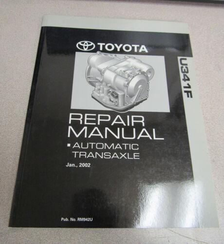 2002 Toyota U341F Automatic Transaxle Service Repair Manual