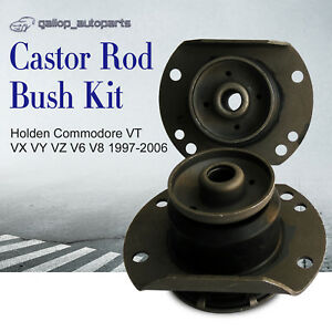 Front-Castor-Rubber-Z-Bar-Radius-Rod-Bush-Kit-Commodore-VT-VX-VY-VZ-V6-V8-97-06