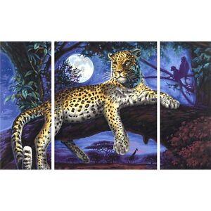 Chasseur-dans-le-nuit-Schipper-dessins-numerotes-50x80cm-Triptyque-leopard