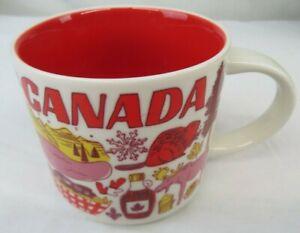 Starbucks Been There Global City Collectors 14oz Canada Mug 2018