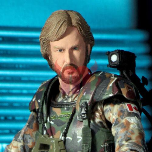 """NECA Aliens Director James Cameron Colonel Colonial Marine 7/"""" Figure Alien NIB"""