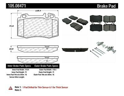 Centric 105.08281 Disc Brake Pad